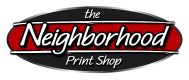 The Neighborhood Print Shop Logo