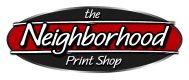 The Neighborhood Print Shop Logo
