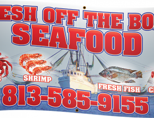 Fresh Off The Boat Seafood Banner